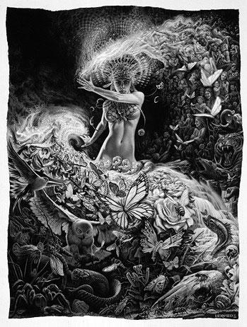 Kali-Prakriti de Todd Lockwood