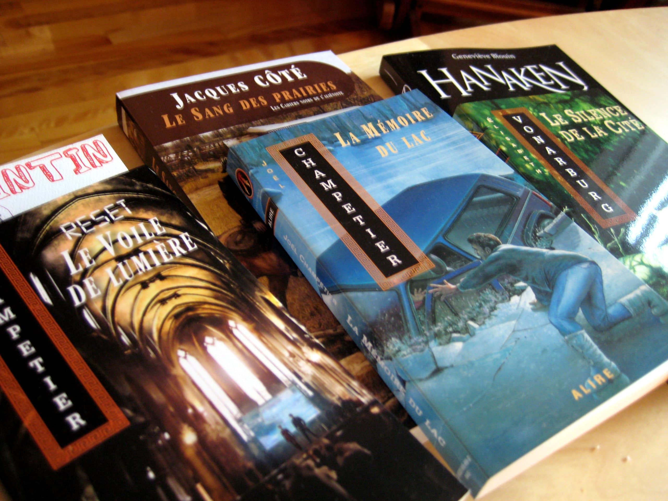 Nouveau design du blogue et virée au Salon du livre du Saguenay