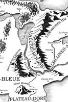 Carte du Continent-Coloré