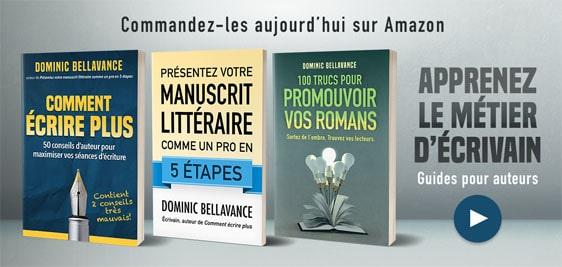 Apprenez le métier d'écrivain - Guides pour les auteurs
