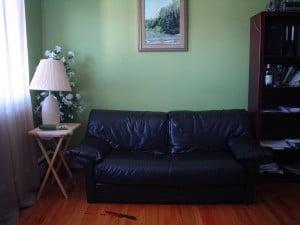 Petit divan pour petit appart.