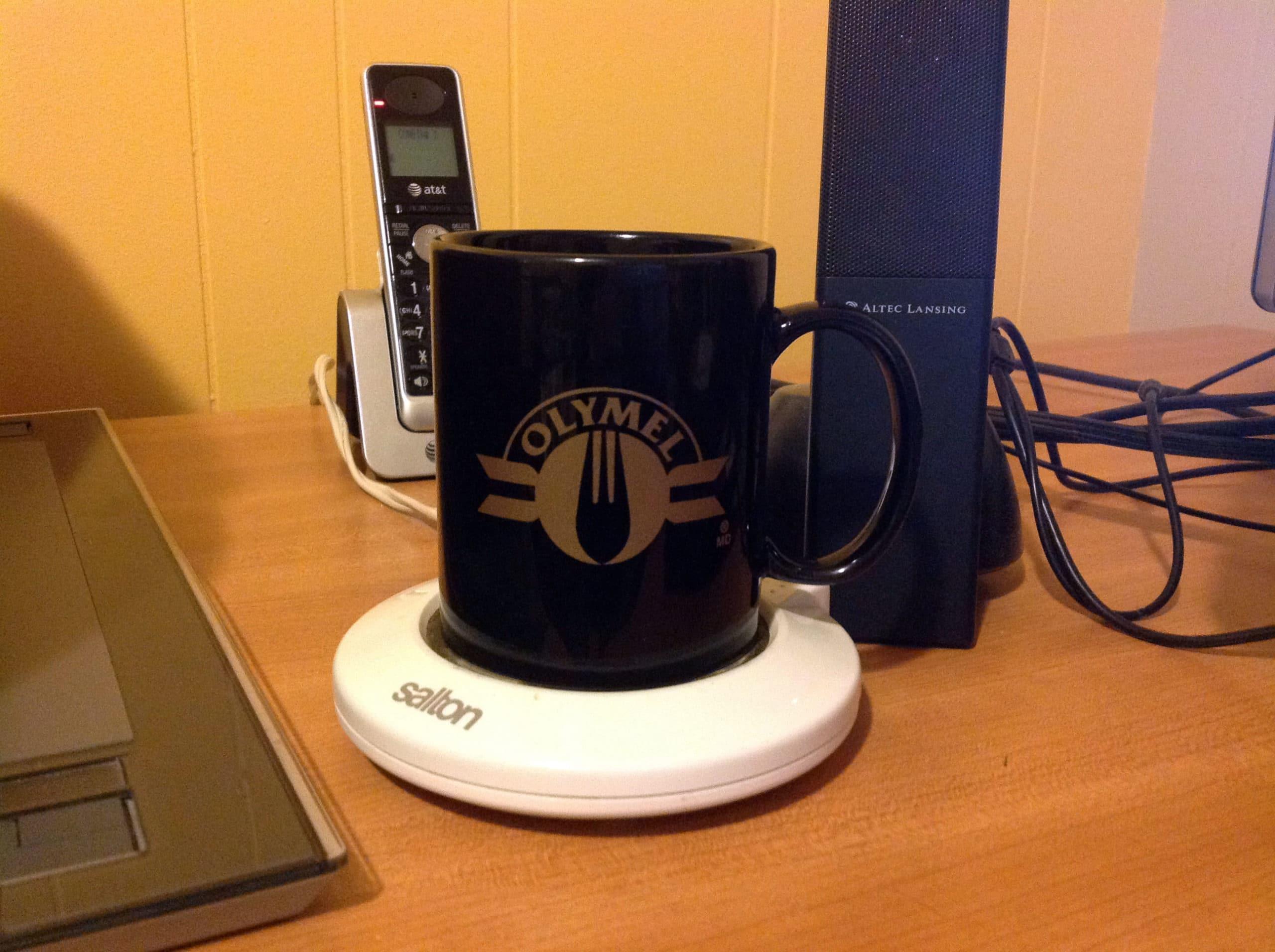 Les objets de mon bureau #4 : Chauffe-tasse
