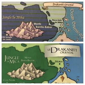 Drakanitt avant et après