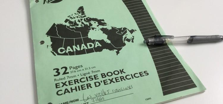 Cahier Canada LVR