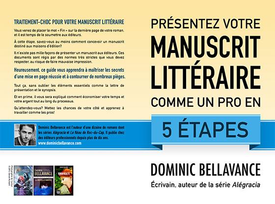 Présentez votre manuscrit littéraire comme un pro en 5 étapes, version papier