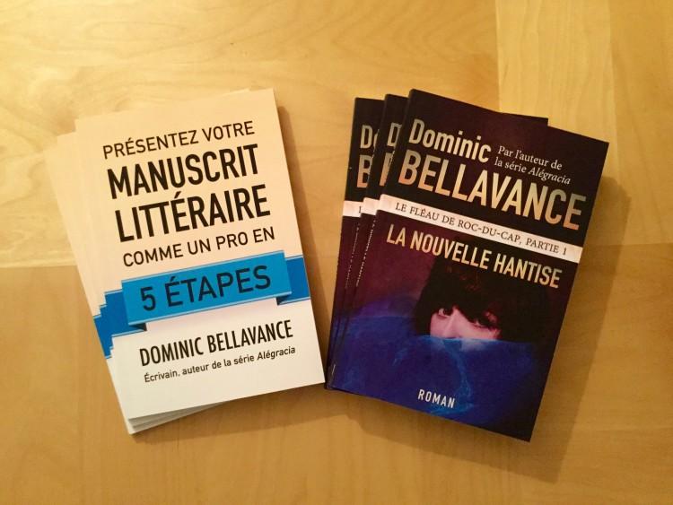 La nouvelle hantise et Présentez votre manuscrit littéraire comme un pro en 5 étapes
