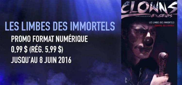 <i>Les limbes des immortels</i> réduit à 0,99 $ jusqu'au 8 juin