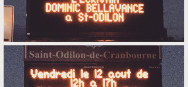 Panneau électrique de Saint-Odilon