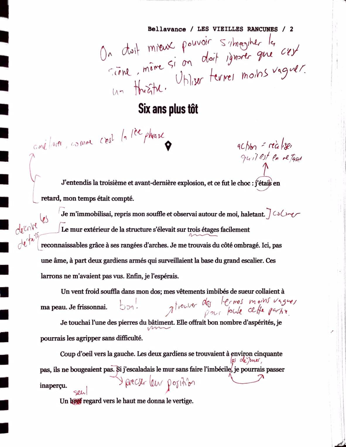 Réécriture du premier jet - Page 2