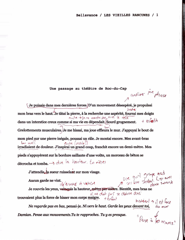 Réécriture du deuxième jet - Page 1