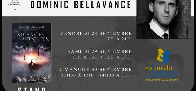 Signatures au Salon du livre du Saguenay 2018