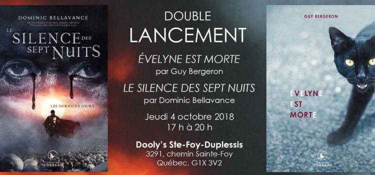 Venez au lancement de la série <i>Le silence des sept nuits</i> ce jeudi à Québec!