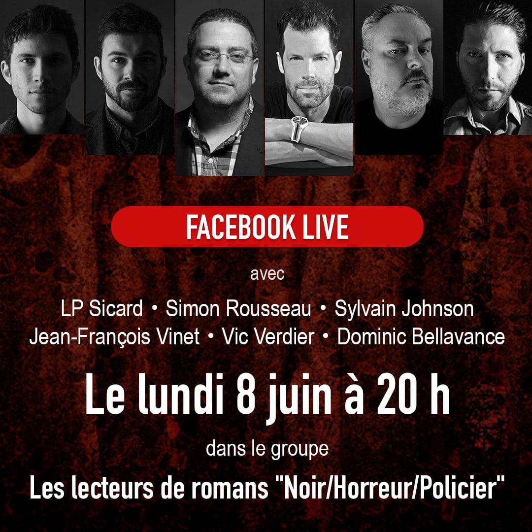 Entrevue Facebook Live