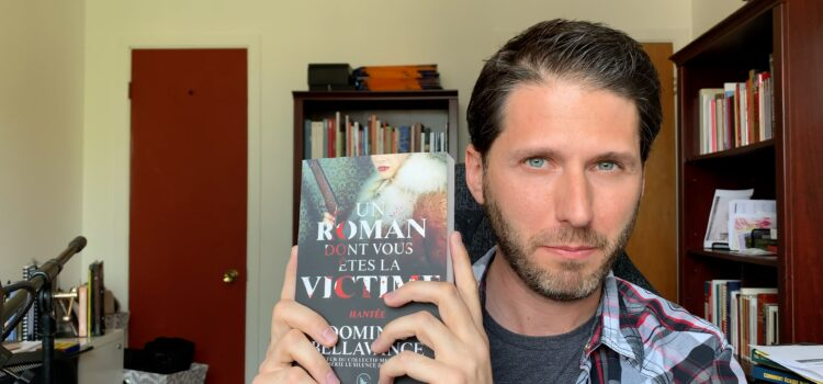 Présentation de <i>Hantée</i>, dans la collection « Un roman dont vous êtes la victime »